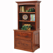 Liberty Classic Lateral File Bookshelf