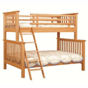 Mission Twin Full Bunkbed