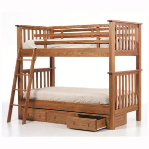 Mission Twin Twin Bunkbed