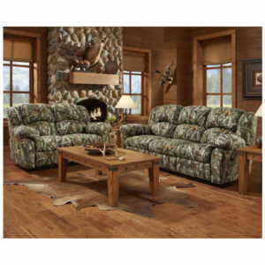 Next Camo Reclining Sofa Loveseat