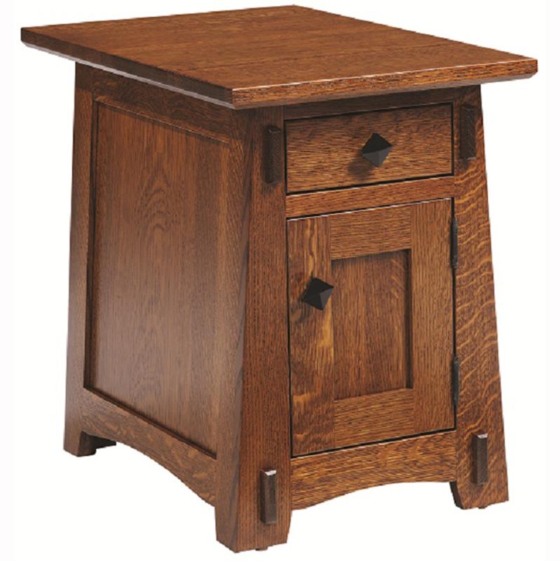 Olde Shaker End Table Home Wood Furniture