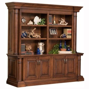 Paris Double Door Base Bookshelf Hutch