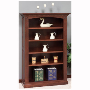 Premium Raised Panel Bookcase
