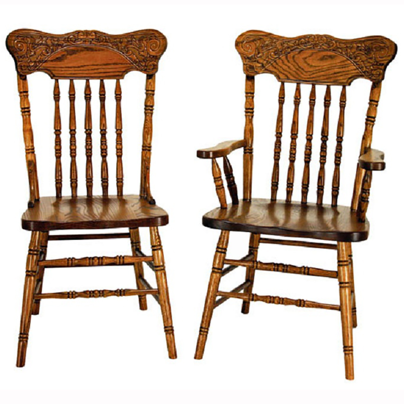 Press Back Chairs - Pressback Chairs - Home Wood Furniture