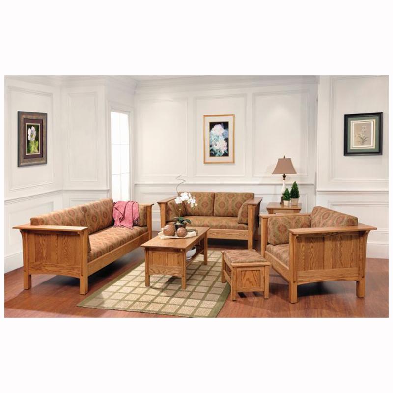 Shaker Loveseat Home Wood Furniture