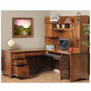 Rivertowne L Desk Hutch