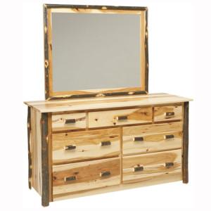 Rustic 7 Drawer Dresser