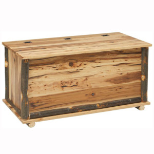 Rustic Blanket Chest