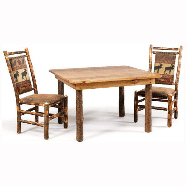 Rustic Hickory Table
