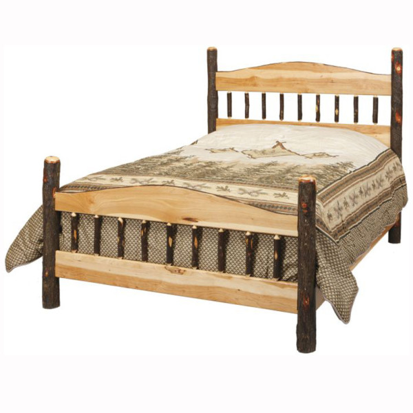 Rustic Panel Bed Queen