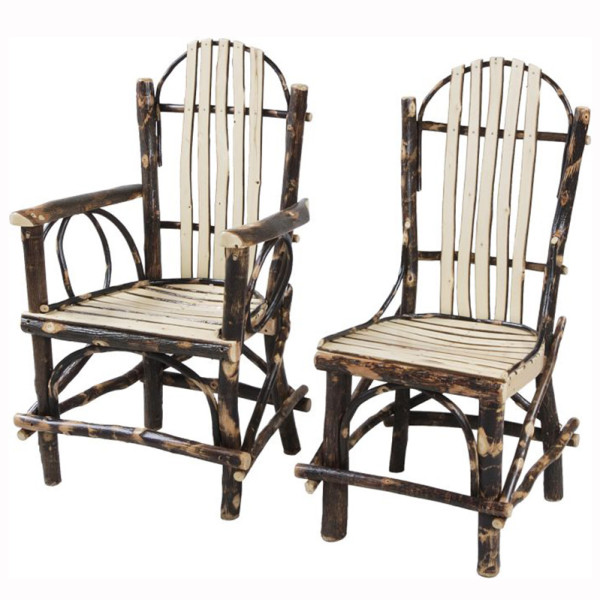 Rustic Slat Dining Chair
