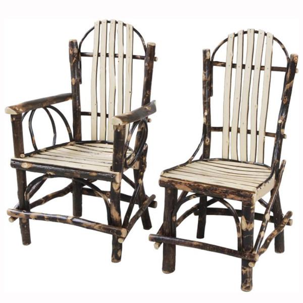 Rustic Slat Dining Chair