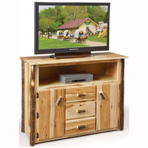 Rustic Tall TV Stand