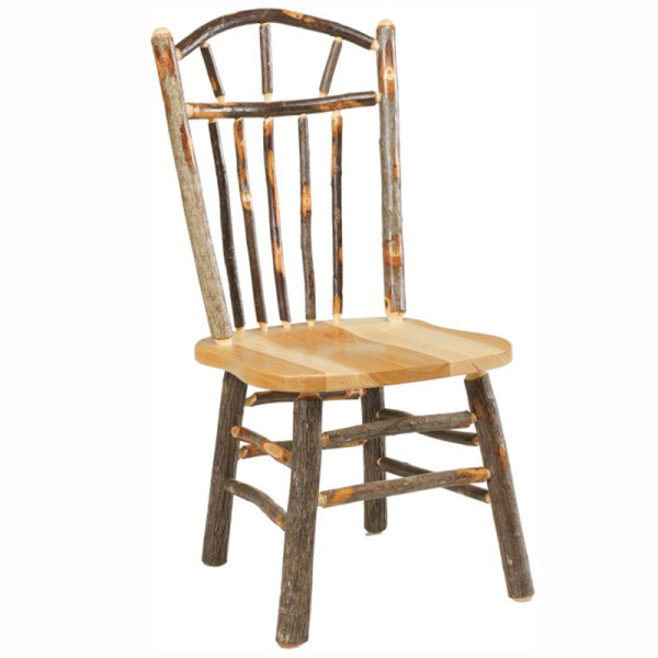 Rustic Wagon Wheel Dining Chair