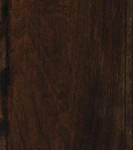 Saddle Cherry stain sample