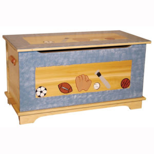 Shaker Toy Box Painted Design