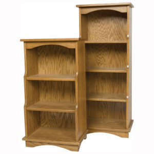 Stepback Bookshelves