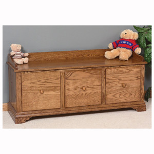 Traditional Bench Drawers