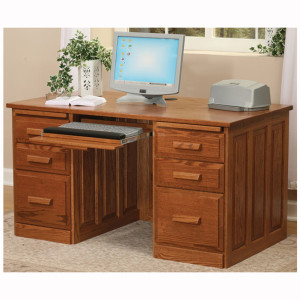 Traditional Computer Desk