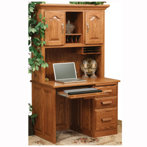 Traditional Computer Desk Hutch