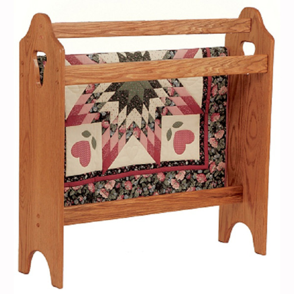 Traditional Quilt Rack