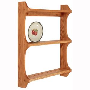 Triple Plate Shelf