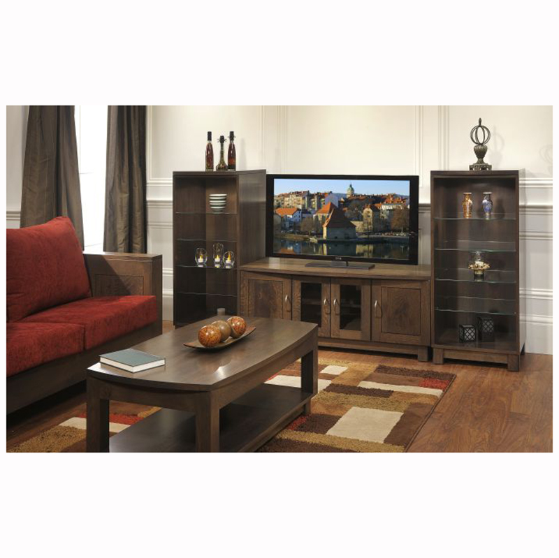 Urban bow top end table home wood furniture Urban home furniture online