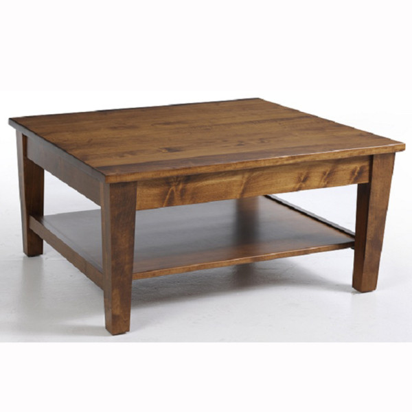 Urban Shaker Square Coffee Table Home Wood Furniture
