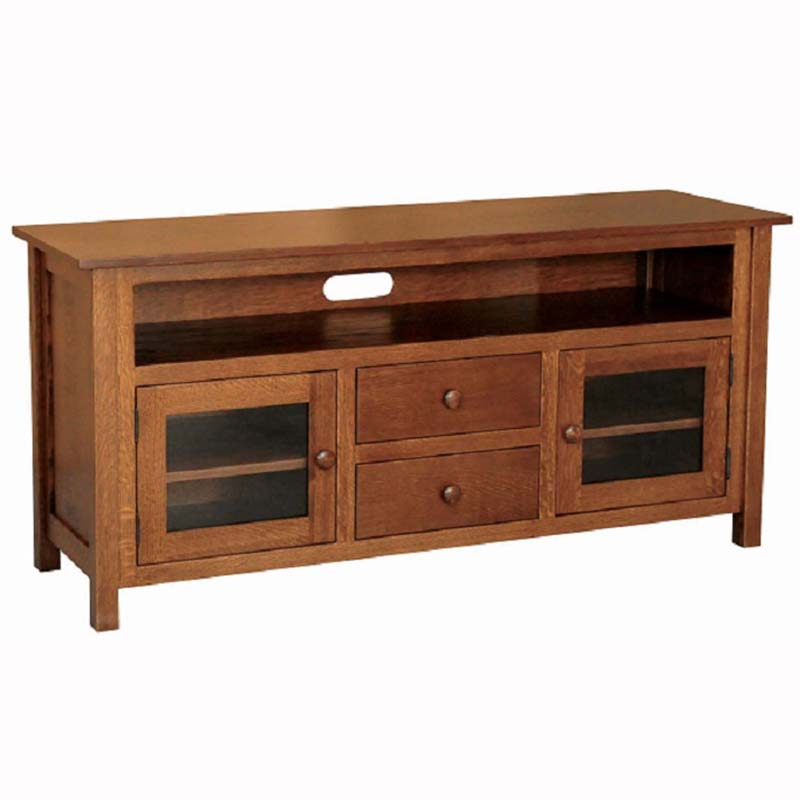 Mission Tv Stand Home Wood Furniture