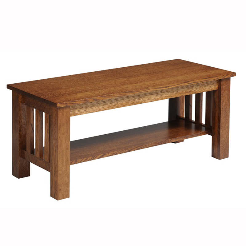 Mission Square Coffee Table Home Wood Furniture